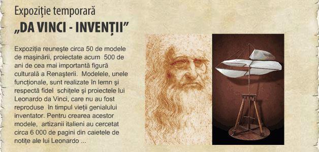 Expoziţia Da Vinci - Invenţii