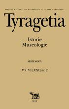 Tyragetia, serie nouă, vol. VI [XXI], nr. 2, Istorie. Muzeologie