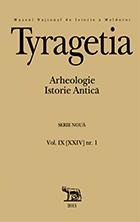 Tyragetia, serie nouă, vol. IX [XXIV], nr. 1, Arheologie. Istorie Antică